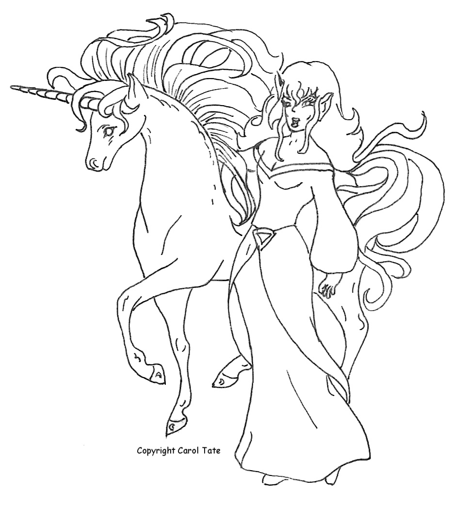 Free Coloring Pages Of Princess On Unicorn Princess Unicorn Coloring Page